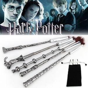 Makeup - NEW 5pc Magic Harry Potter Makeup Brush Wand Set